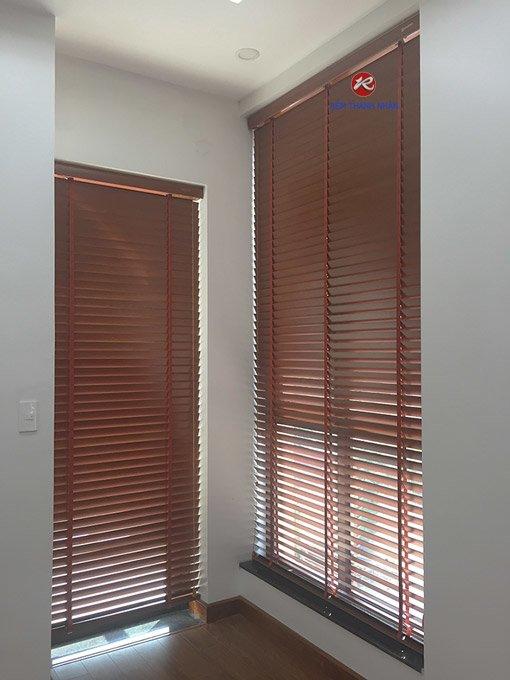 Rèm gỗ WB-504 tự nhiên