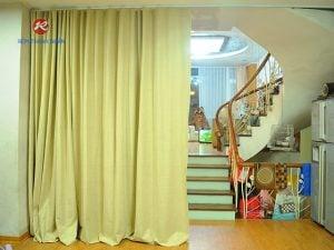 Rèm Vải Ngăn Điều Hòa Gia Đình - Rèm Vải Cao Su Tốt Nhất