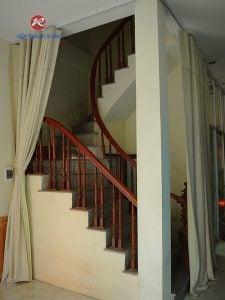 Rèm PVC ngăn phòng điều hòa