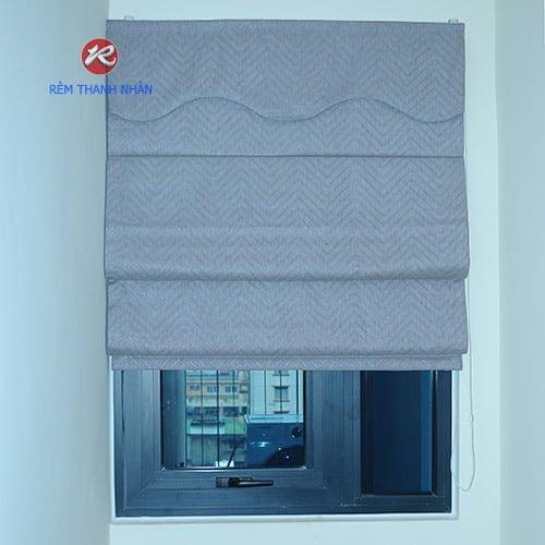 Rèm Vải 1 Màu & Rèm Roman Kẹp RM-484-12