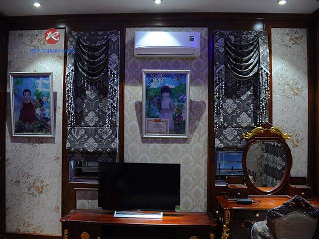 rem roman kep rm 2012 9 - Mẫu Rèm ROMAN KẸP Đẹp Nhất tại Hà Đông Hà Nội