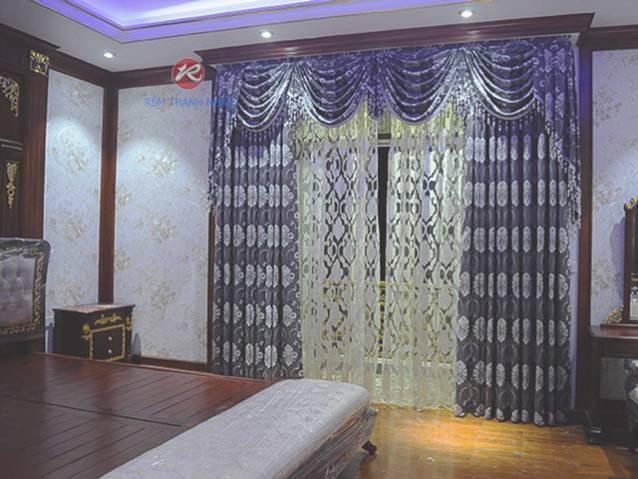 rem vai hoa van cao cap rv 2012 9 1 - Rèm Vải Hoa Văn Cao Cấp RV-2012-9