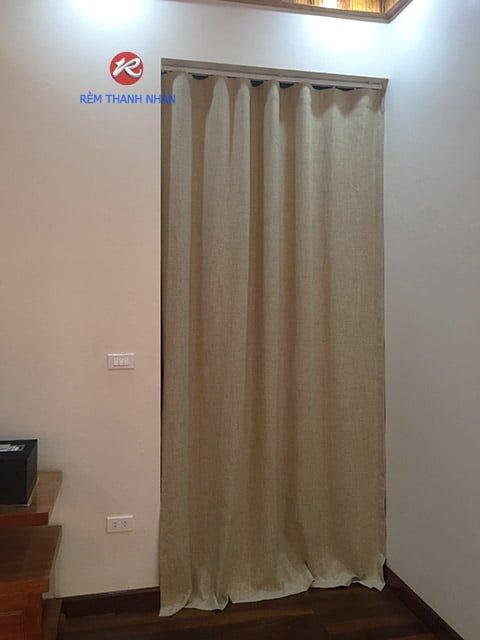 Rèm Vải Ngăn Phòng Điều Hòa Gia Đình