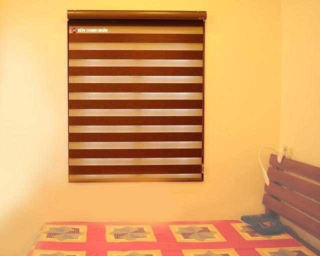 Rèm cuốn cầu vồng Claudia CL-141 cho phòng ngủ