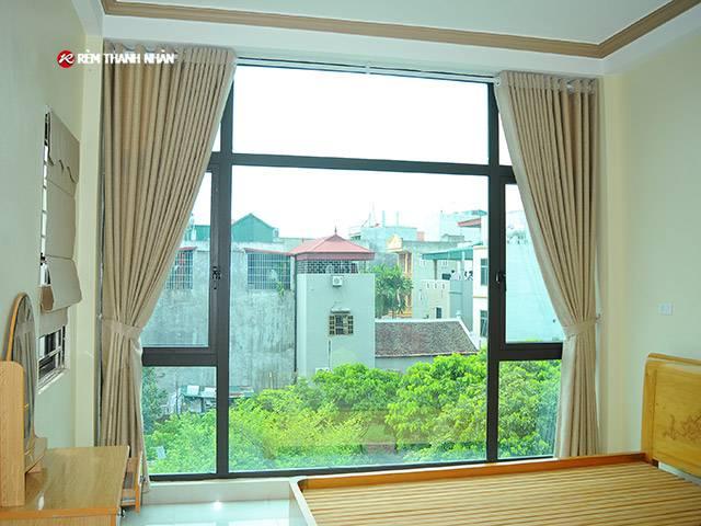 rem vai gam phong ngu - Rèm cửa vải Gấm tại Hà Nội