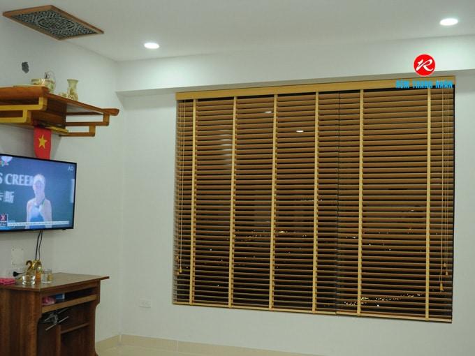 Rèm gỗ phòng khách
