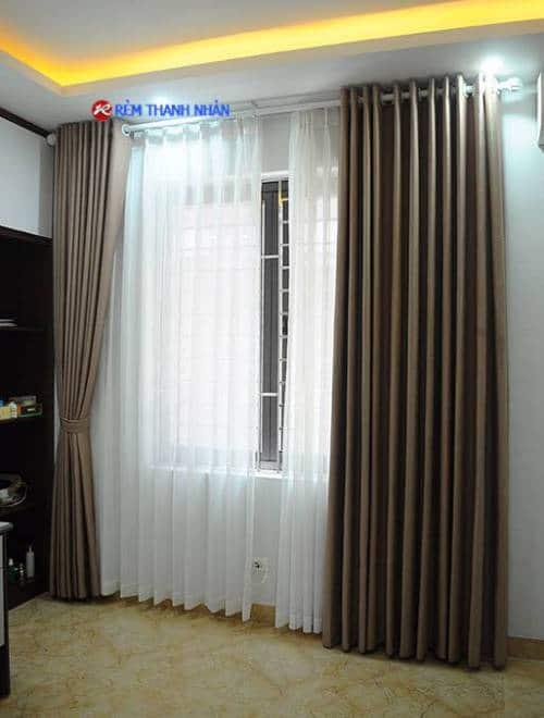 Màn cửa sổ 1 màu RV-568-2