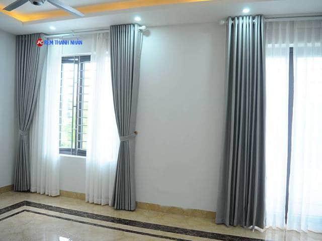 Rèm cửa sổ vải một màu RV-568-4 tại Hà Nội
