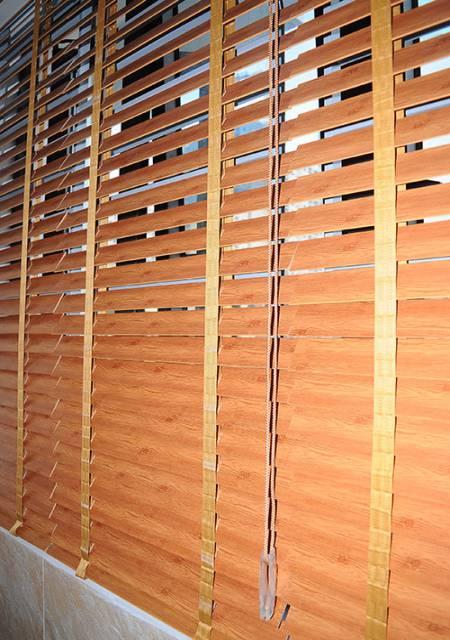Rèm nhựa giả gỗ hệ 1 dây MSJ-504