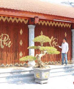 Mành hạt gỗ Hương nhà thờ