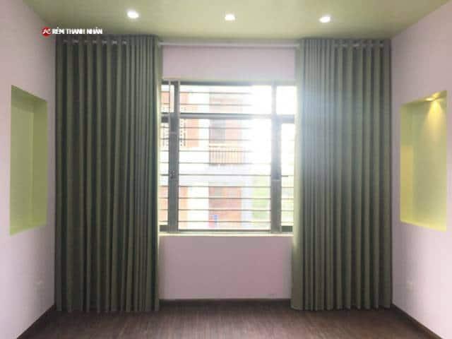 Rèm vải chống nắng một màu RV-484-18