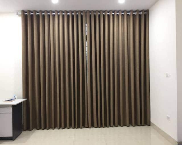 Rèm cửa một màu RV-484-7 phòng ngủ