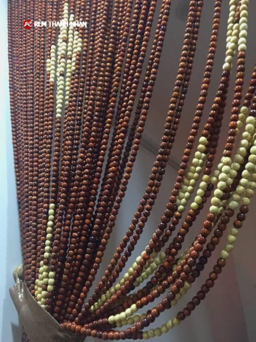 Mành hạt gỗ Hương