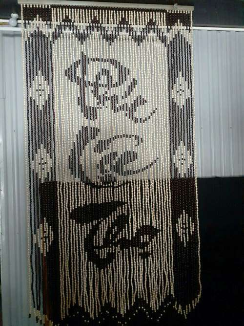 Rèm gỗ phong thủy cửa ra vào