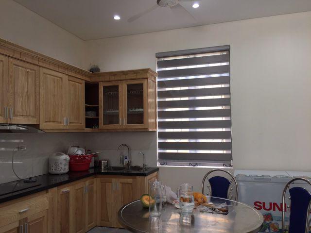 rem nicole phong bep - Mành combi Nicole CE 154 cho phòng ngủ và phòng bếp tại Hà Đông