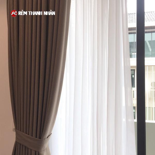 Rèm cửa đẹp vải Nhật Bản T898