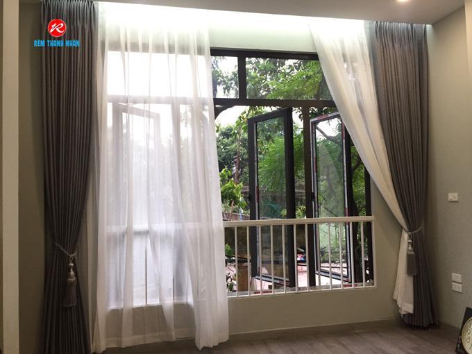 Rèm cửa sổ 2 lớp phòng ngủ