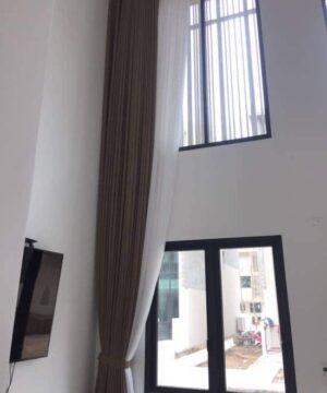 Rèm cửa vải Nhật T898 phòng khách