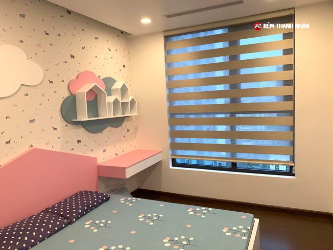 Lợi ích rèm cầu vồng modero mã BALI cho phòng trẻ em tại chung cư