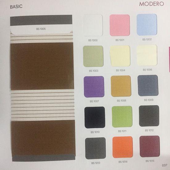 Bảng màu mã Basic Modero