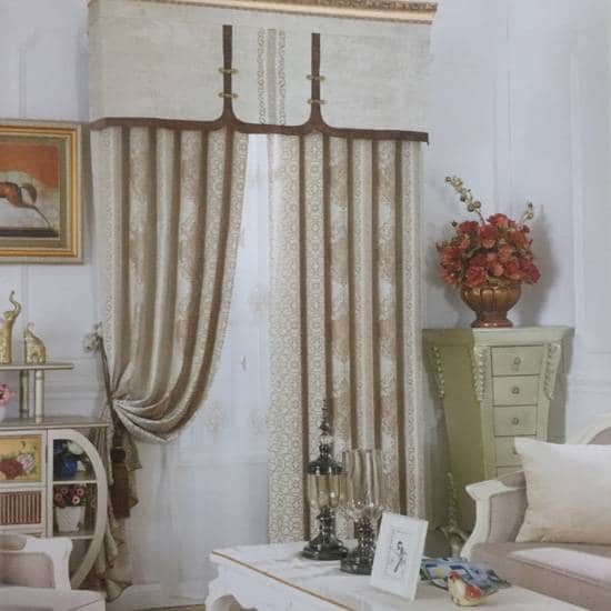 Giá rèm cửa vải Gấm Nhung cao cấp