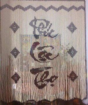 Mẫu màn cửa hạt gỗ Bồ Đề chữ Phúc - Lộc - Thọ