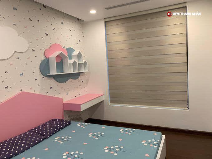 Mành rèm phòng ngủ trẻ em cầu vồng