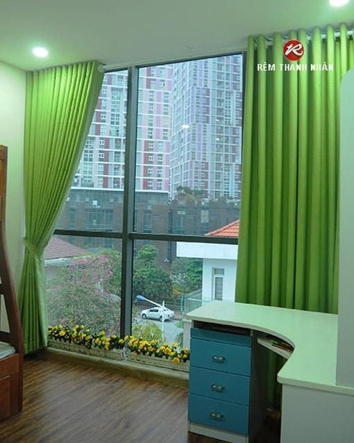 Rèm cửa vải cản sáng Đài Loan giá rẻ