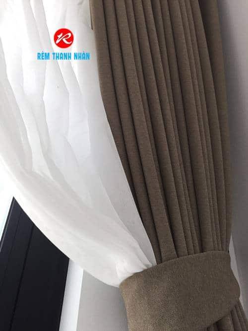 Rèm 2 lớp vải Nhật Bản