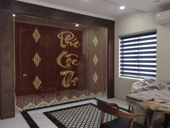 Tiêu chuẩn rèm mành hạt gỗ Thanh Nhàn
