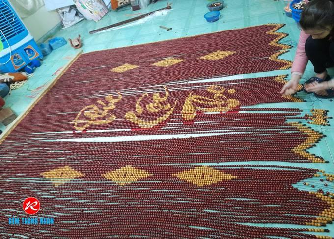 Xưởng gia công rèm mành hạt gỗ giá tốt