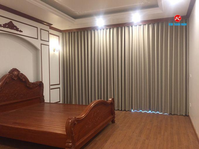 Rèm phòng ngủ vải Hàn Quốc