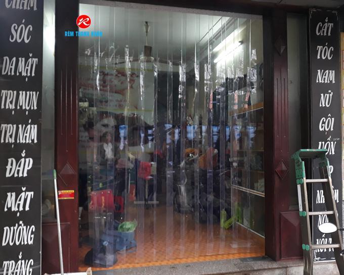 Màn nhựa PVC ngăn phòng máy lạnh