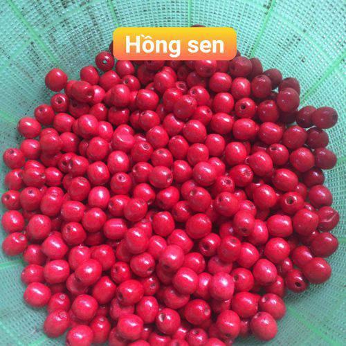 Màu hạt gỗ Bồ Đề màu Hồng Sen