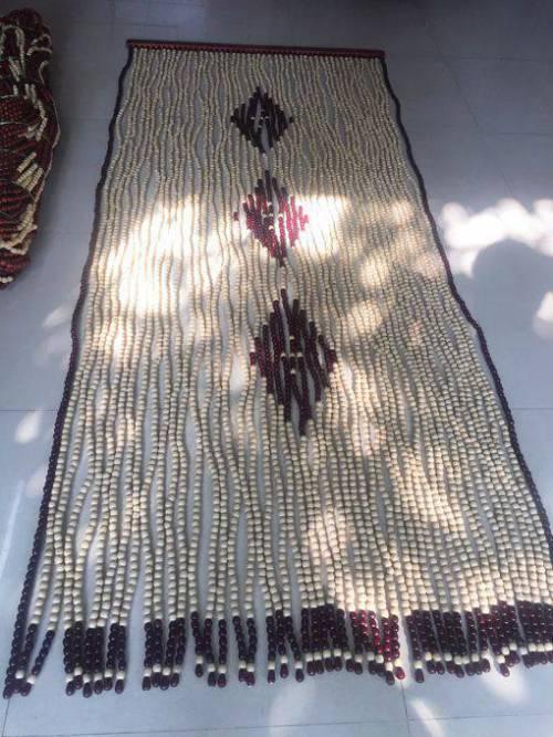 Rèm hạt gỗ Bồ Đề mẫu quả Trám