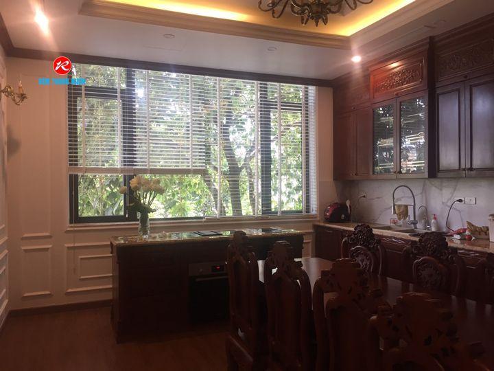 Mành gỗ cửa sổ phòng Bếp