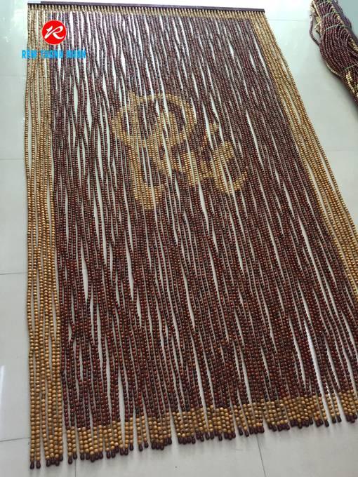 Rèm hạt gỗ Hương chữ Phúc