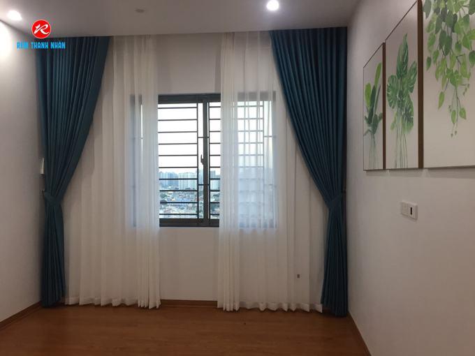 Màn vải phòng ngủ hiện đại