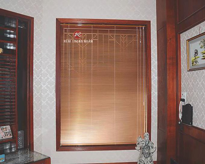 Mẫu màn sáo nhôm cửa sổ