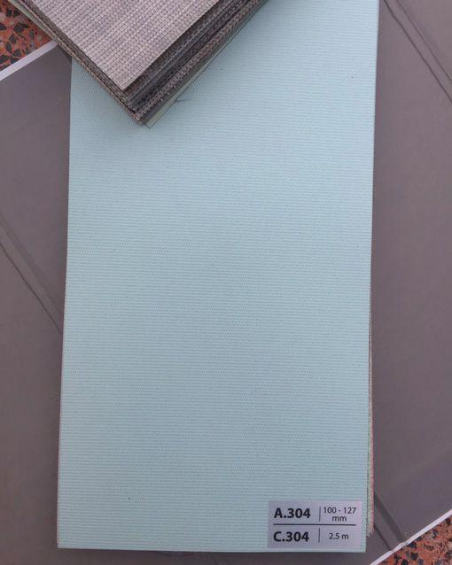 Màu rèm lá dọc A304 màu Xanh Ngọc