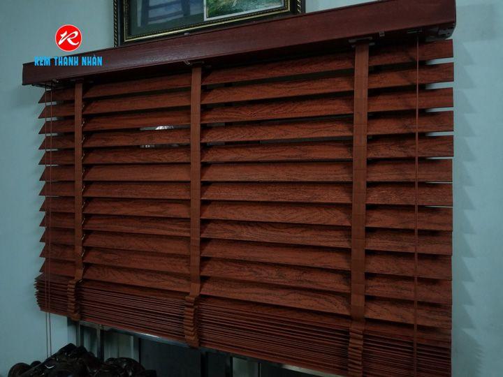 Quy trình sản xuất rèm gỗ