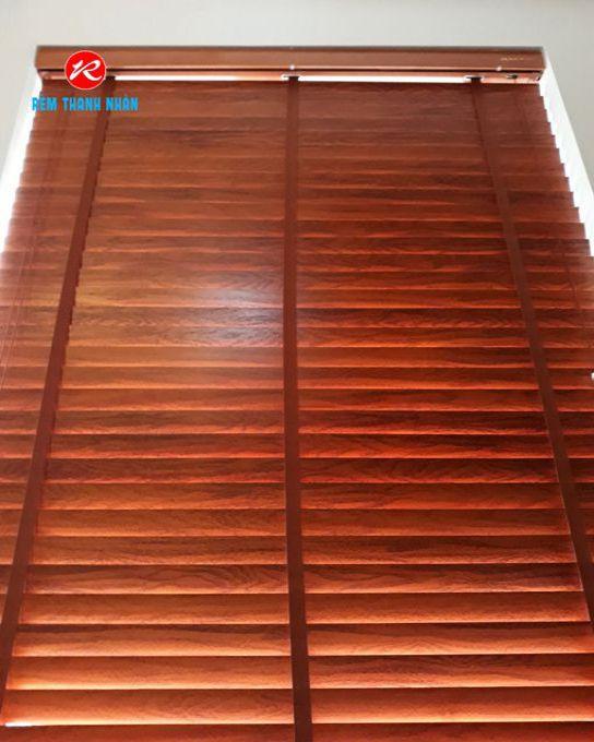 Rèm gỗ che nắng