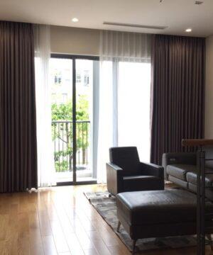 Rèm vải 2 lớp phòng khách RV950-3