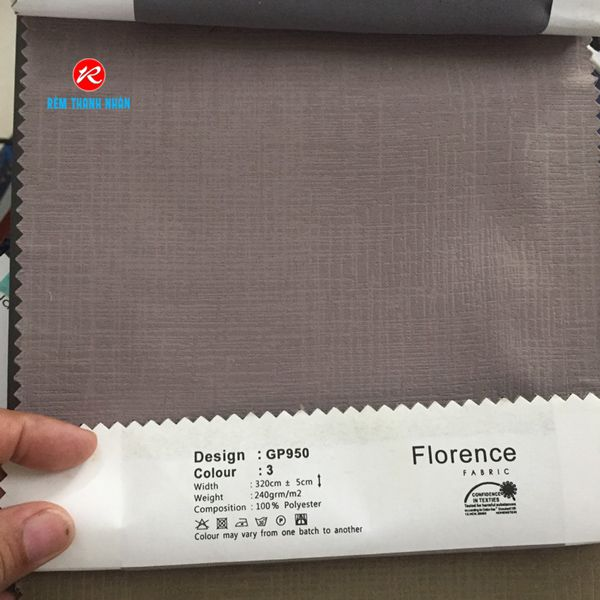 Vải rèm Florence GP950-3