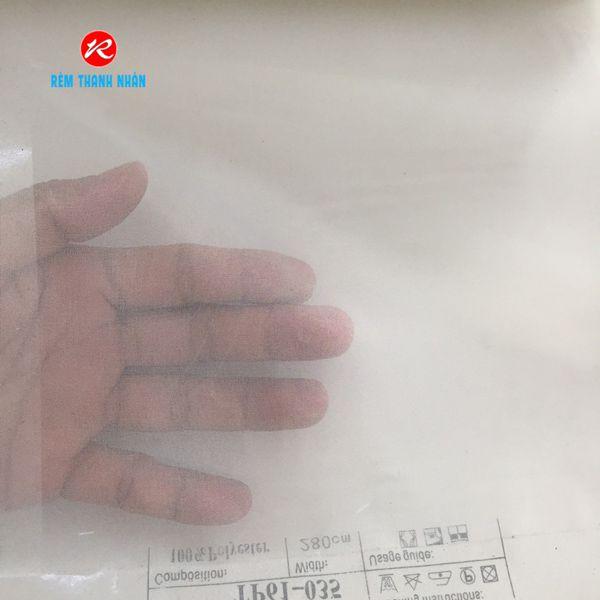 Vải voan trắng trơn TP61-035