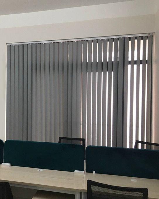 Rèm cửa sổ lá dọc A-584 màu xám