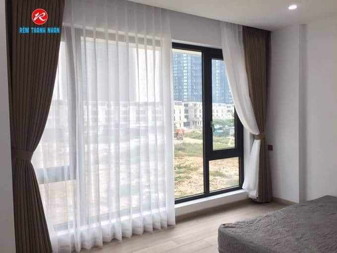 Rèm vải 2 lớp phòng ngủ vải DEPO Nhật Bản